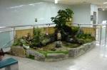 Garden in the subway